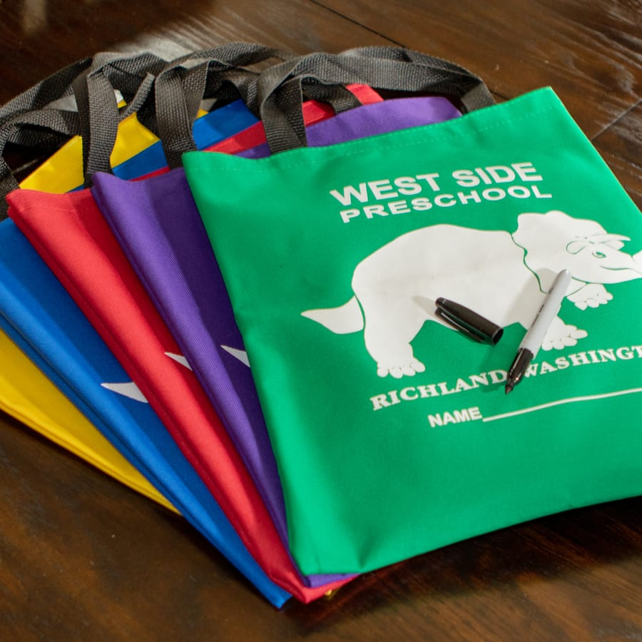Selection of Tote Bags Colors