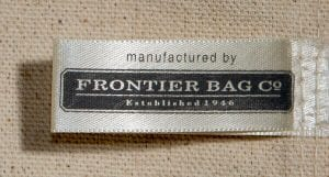Frontier Bag Co. Bag Label