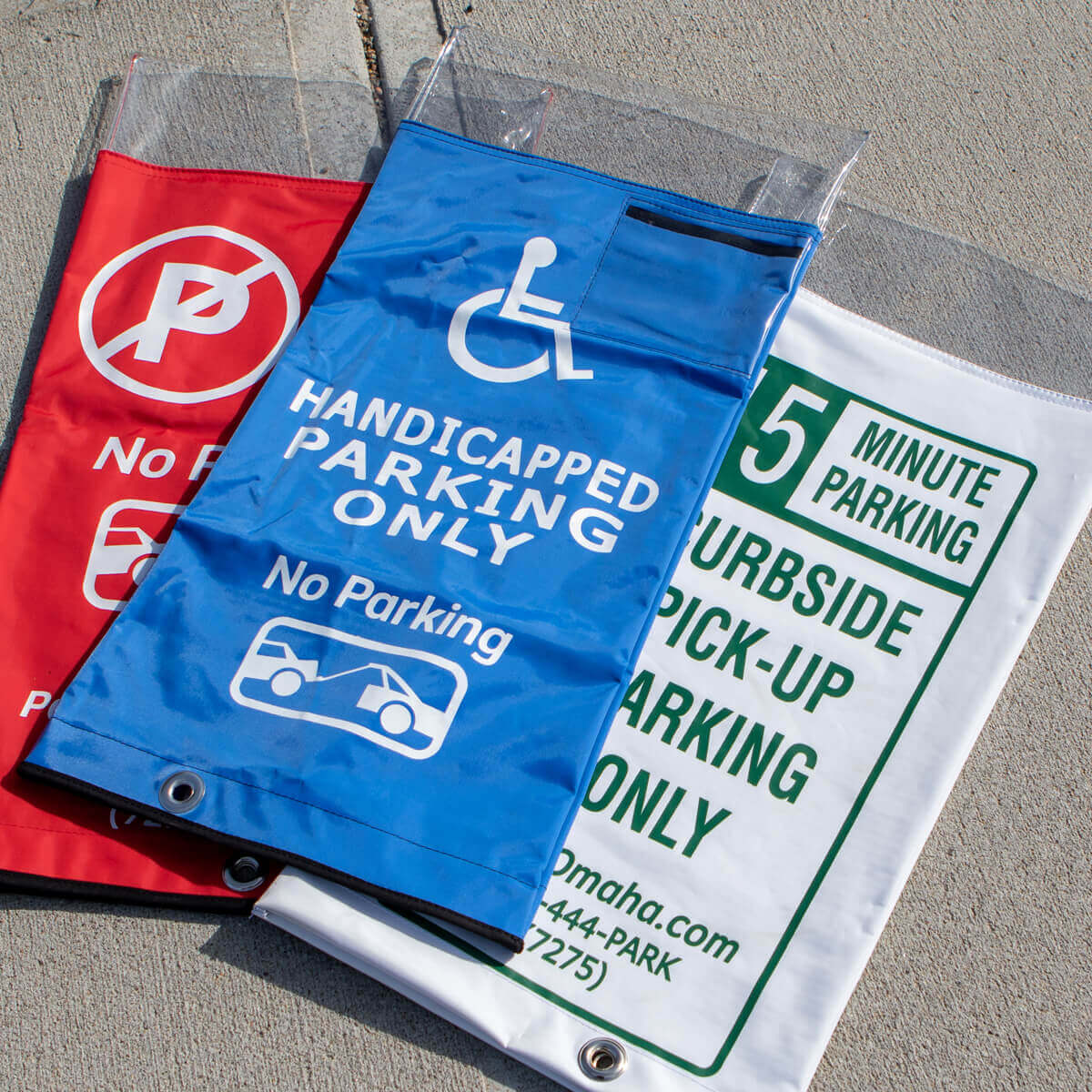 Variety of Parking Meter Covers